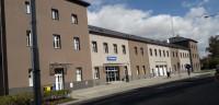 Rekonstrukce fasády, vlakové nádraží, Sokolov
