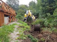 Revitalizace koryta potůčku Kamenice