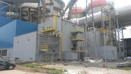 Rekonstrukce fasády, elektrárna Prunéřov
