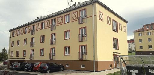 Zateplení bytového domu, ul. Komenského 120, Březová